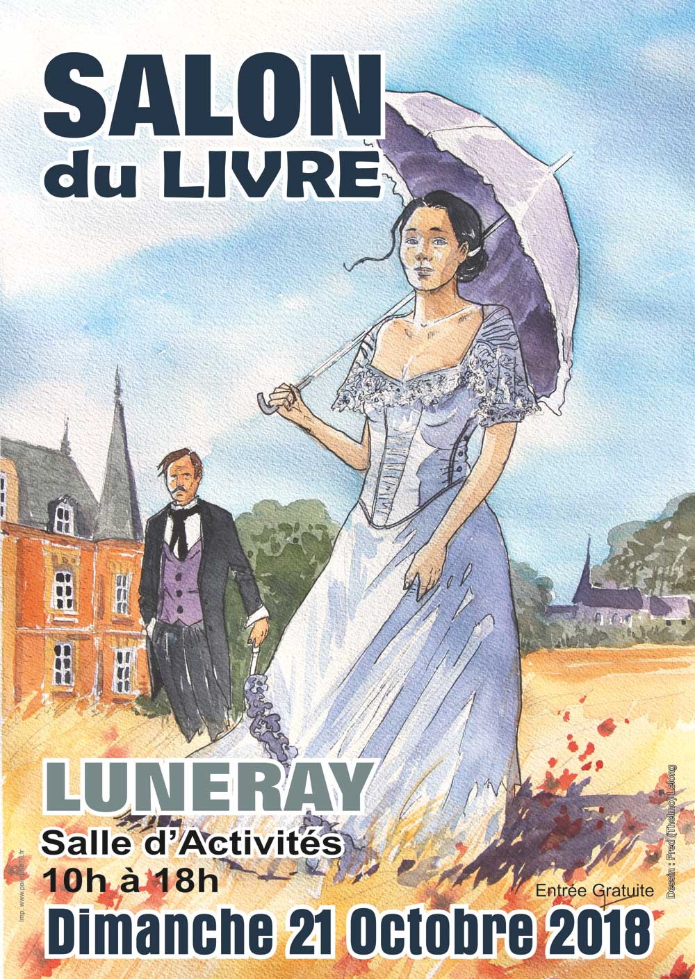 salon du livre luneray